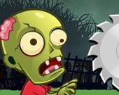 Перетягивание с каната зомби