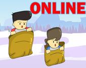 Гонка в мешках Онлайн