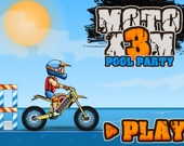 Moto X3M: Бассейная вечеринка