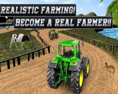Сельское хозяйство: Сверхмощный трактор