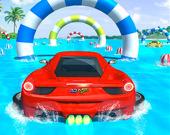 Водные горки на машинах