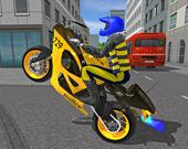 Симулятор полицейского мотоцикла 3D
