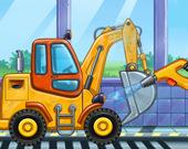 Фабрика грузовиков для детей